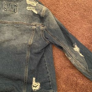 denim jacket (wore only once)